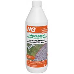 HG odstraňovač zelených povlakov a machu 1l