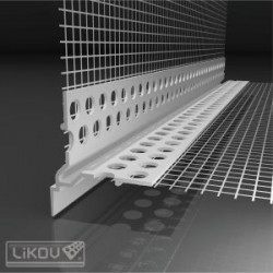LIKOV lišta nadokenný profil priznaný VLTU-2H 2,5m (20 ks)