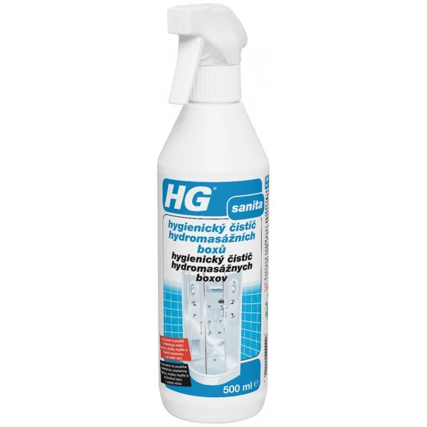 HG hygienický čistič hydromasážnych boxov 0,5 l