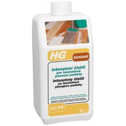 HG Intenzívny čistič na laminátové podlahy 1l