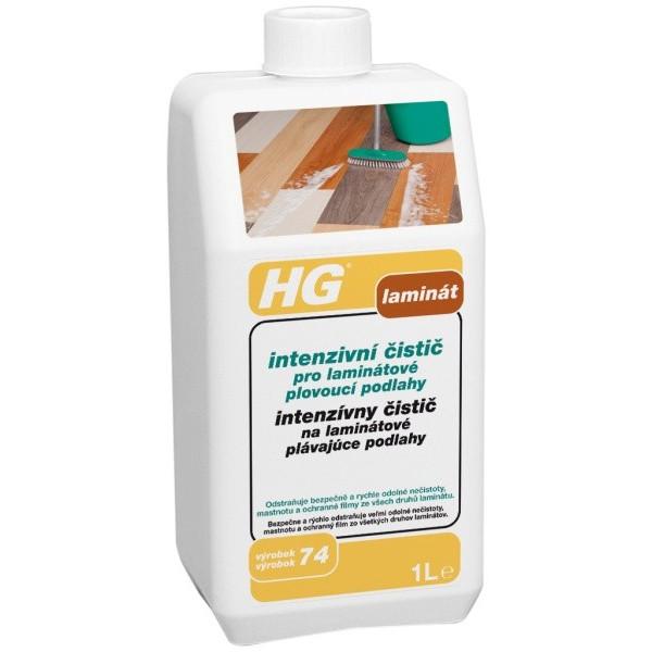 HG Intenzívny čistič na laminátové podlahy 1 l