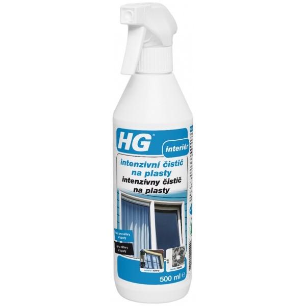 HG intenzívny čistič na plasty 500 ml