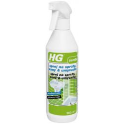 HG sprej na sprchy, vane, umývadlá 500 ml