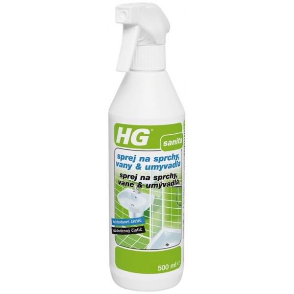 HG sprey na sprchy, vane, umývadlá 0,5 l