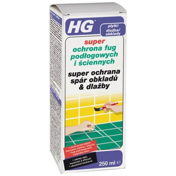 HG super ochrana špár obkladov a dlažby 250 ml