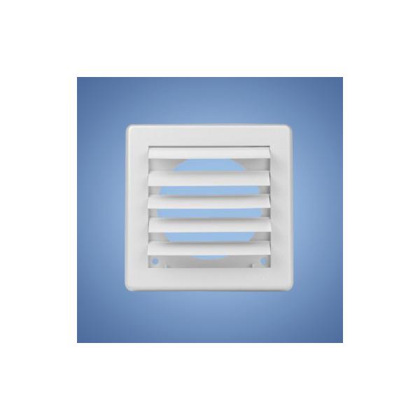 HACO vetracia mriežka gravitačná biela