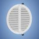 HACO vetracia mriežka so sieťovinou - nastaviteľná biela