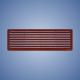 HACO vetracia mriežka dverová VM 500x90 D (2ks)