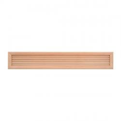 HACO drevená vetracia mriežka - dverová 500x90D