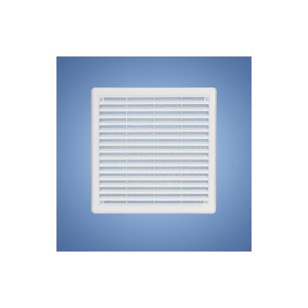 HACO vetracia mriežka so sieťovinou - krytka biela