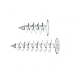 Špirálová skrutkovacia hmoždinka WK-DS (10 ks)