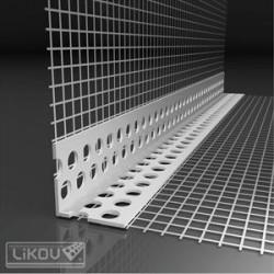 Likov LK profil PVC so sieťkou VERTEX 2,5m (50 ks)