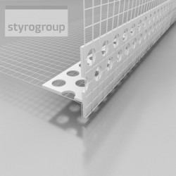 LT STYRO okenný profil PVC skrytý 2,5m (20 ks)