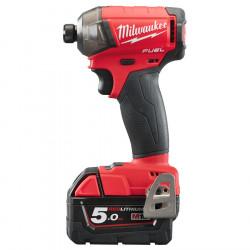 Milwaukee aku hydraulický rázový uťahovák 1/4˝ HEX M18 FQID-502X