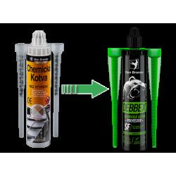 Den Braven chemická kotva bez styrénu POLYESTER SF 280 ml