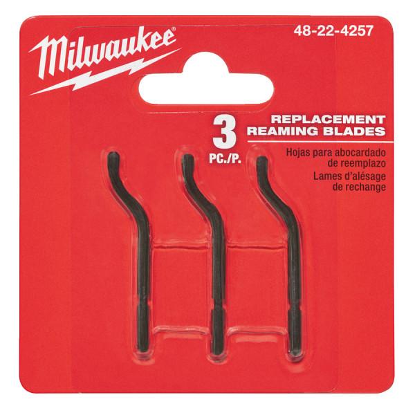 Milwaukee vymeniteľné ostrie do odhrotovacieho nástroja (3ks)