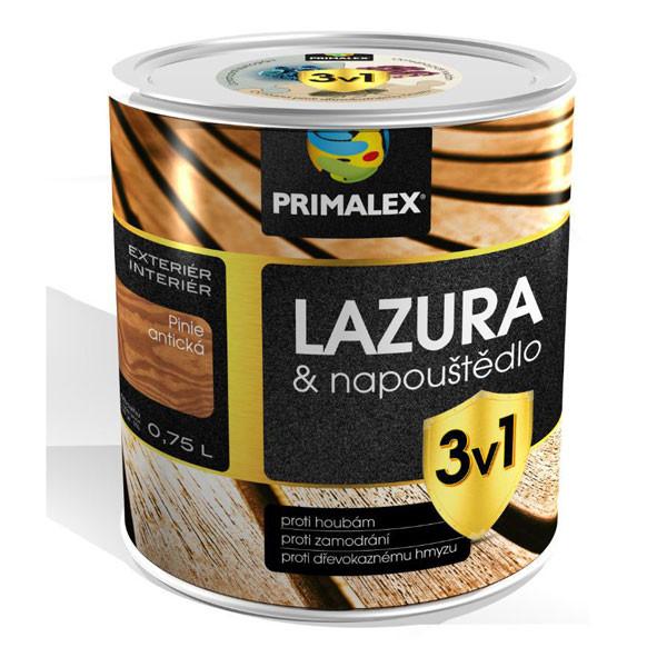 Primalex lazúra & napúšťadlo 3v1