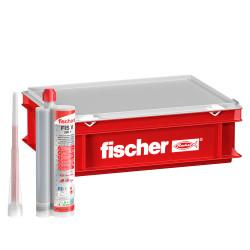 Fischer malý montážny box HWK plný Fischer malty FIS V 360 S