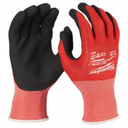 Milwaukee rukavice odolné proti prerezaniu stupeň 1