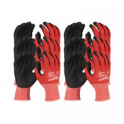 Milwaukee rukavice odolné proti prerezaniu stupeň 1 (12 ks)
