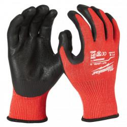 Milwaukee rukavice odolné proti prerezaniu stupeň 3 (1 ks)