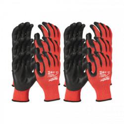 Milwaukee rukavice odolné proti prerezaniu stupeň 3 (12 ks)
