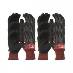 Milwaukee rukavice odolné proti prerezaniu stupeň 3 zimné (12 ks)