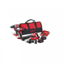 Milwaukee M18 CBLPP4B-502B set náradia