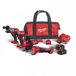 Milwaukee M18 FPP4F2-502B set náradia