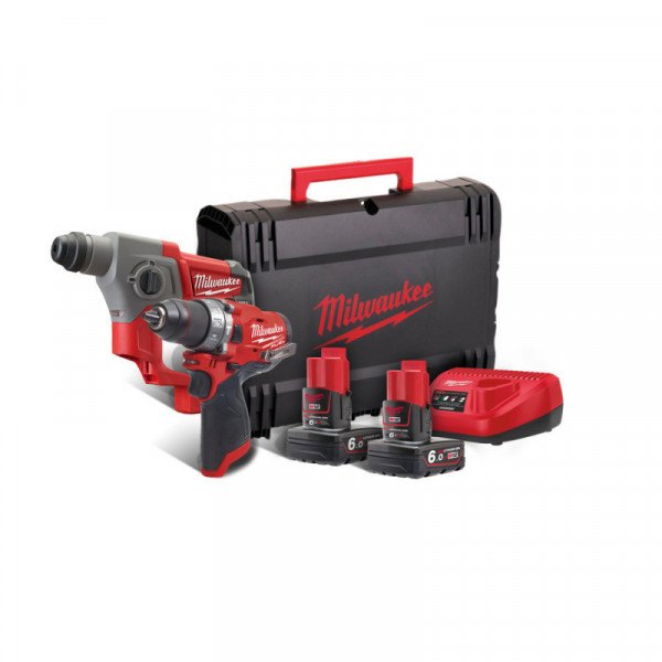 Milwaukee M12 FPP2B-602X set náradia