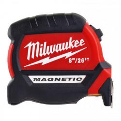 Milwaukee magnetické meracie pásmo PREMIUM III 8 m - 26 ft / 27 mm