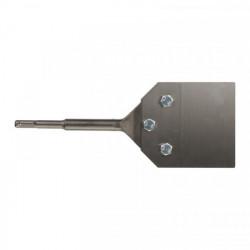 Milwaukee škrabák na podlahu / stenu SDS-Plus 250 x 100 mm