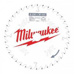 Milwaukee pílový kotúč na drevo 235 x 30 x 2.4 mm 36z ATB
