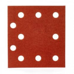 Milwaukee brúsny papier 115 x 107 mm, zrnitosť 120 (10 ks)