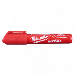 Milwaukee INKZALL značkovač s plochým hrotom L červený