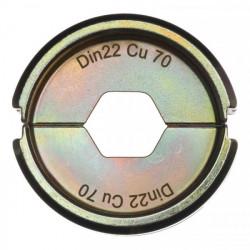 Milwaukee krimpovacie čeľuste DIN22 Cu 70