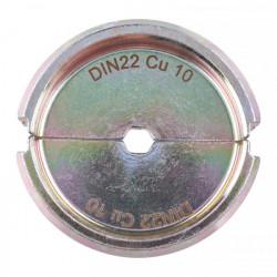 Milwaukee krimpovacie čeľuste DIN22 Cu 10