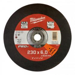 Milwaukee brúsny kotúč na kov PRO+ SG 27 / 230 x 6,0 mm