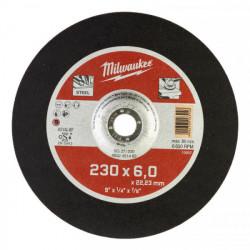 Milwaukee brúsny kotúč na kov SG 27 / 230 x 6,0 mm