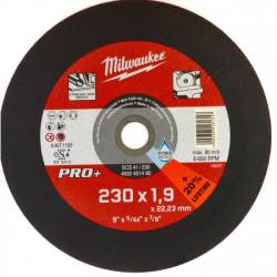 Milwaukee rezný kotúč na tenký kov PRO+ SCS 41 / 230 x 1,9 mm
