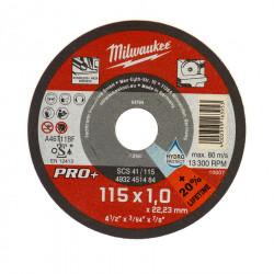 Milwaukee rezný kotúč na tenký kov PRO+ 115 x 1,0 mm (200 ks)