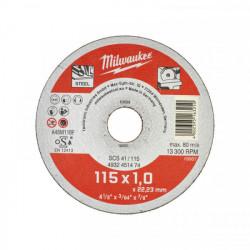Milwaukee rezný kotúč na kov SCS 41 / 115 x 1,0 mm