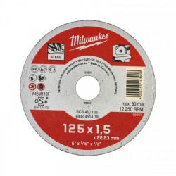 Milwaukee rezný kotúč na kov SCS 41 / 125 x 1,5 mm
