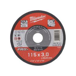 Milwaukee rezný kotúč na kov PRO+ SC 41 / 115 x 3,0 mm