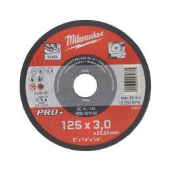 Milwaukee rezný kotúč na kov PRO+ SC 41 / 125 x 3,0 mm