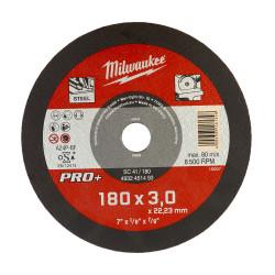 Milwaukee rezný kotúč na kov PRO+ SC 41 / 180 x 3,0 mm