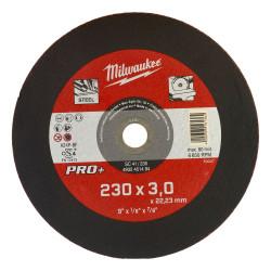 Milwaukee rezný kotúč na kov PRO+ SC 41 / 230 x 3,0 mm