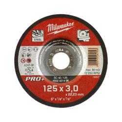 Milwaukee rezný kotúč na kov PRO+ SC 42 / 125 x 3,0 mm