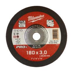 Milwaukee rezný kotúč na kov PRO+ SC 42 / 180 x 3,0 mm