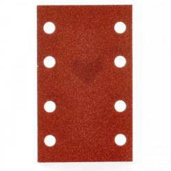 Milwaukee brúsny papier 80 x 133 mm, zrnitosť 80 (10 ks)